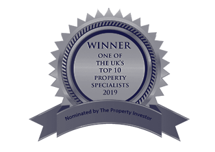 Winner, one of the uk's top 10 property specialists 2019