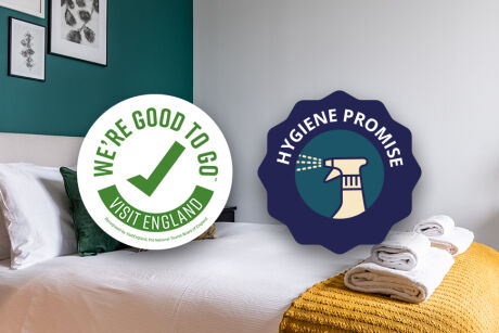 UnderTheDoormat's 10 Point Hygiene Promise - Stay with confidence