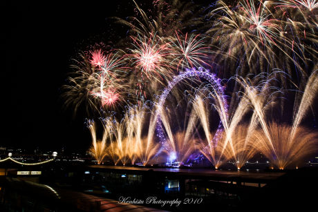 Let's celebrate New Year's – London style