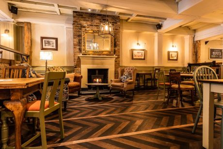 Top 12 London Pubs with Open Fires