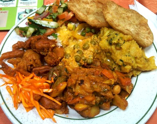 It might not look like must, but Indian Veg serves some of the best vegetarian curries around.