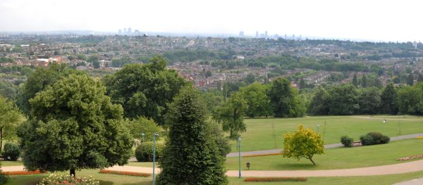 Alexandra Palace Park is one of our favourite dog-friendly parks.