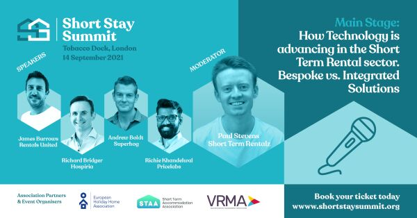 Short Stay Summit speakers and information image
