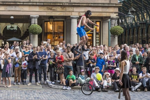 Street Performers in Covent Garden